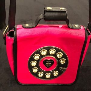 "Betsey Johnson ""Rotary Phone"" Purse"